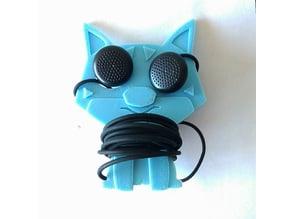 Dog earphone cable organiser
