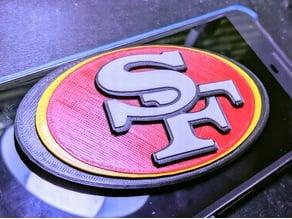 San Francisco 49ers - Logo - Multicolor