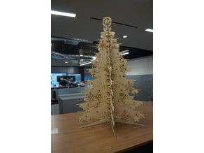 Laser Cut Christmas Tree