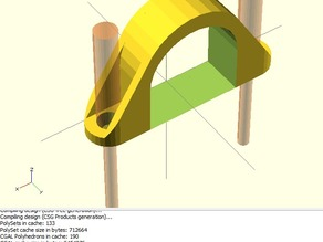 Pipe Saddle Clamp with Buttrusses