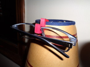 Glasses Holder for nightstand lamp or anything