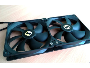 120mm fans joint