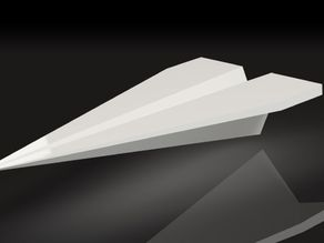 Cool Paper Plane - desktop business card holder