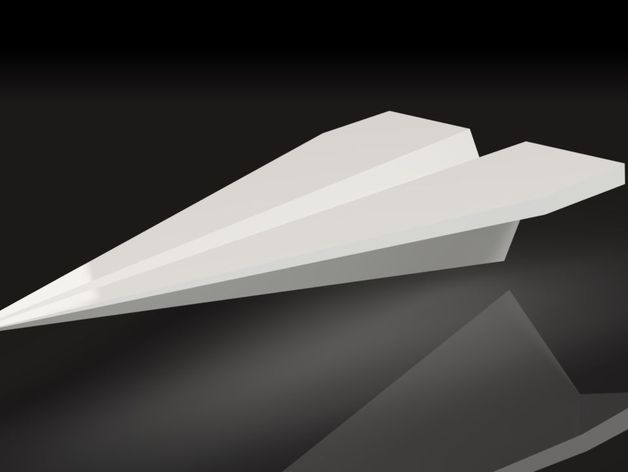 Cool paper plane desktop business card holder by tonyd thingiverse colourmoves