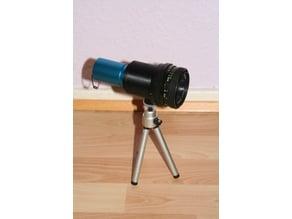 Astrocam/camera lens adapter (Openscad)