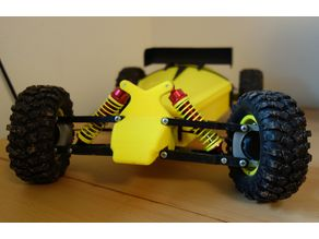Cheap and quick RC car, easy to print