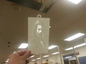 Frederick Douglass Lithopane