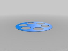 My Customized Wheel for 28BYJ-48 stepper motor