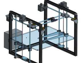 Printi4 – Large Scale CoreXY Printer