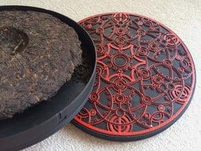 Lockable сase for 357-grams Pu-erh Cake