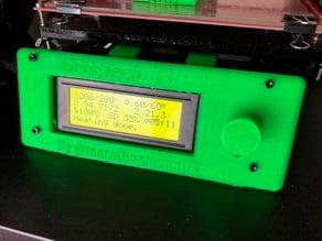 Geeetech i3 printer console