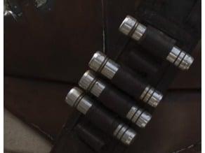 The Mandalorian metal cartridges