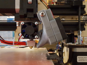 MakerFarm Pegasus Auxiliary 40mm Fan Mount