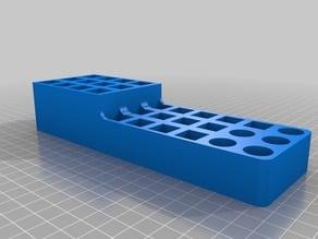 CNC bits holder