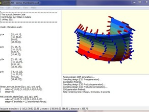 OpenScad Surface Solids