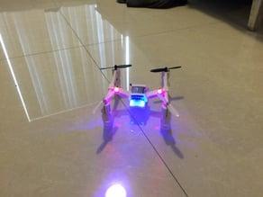 hubsan x4 gen2 frame and landing feet