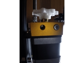 Ender 3 Extrusion Calibration test Extrude simply 100mm and then shut off.