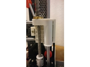Anet A8 slim and robust x-axis tensioner