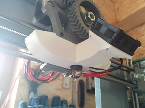 Greg's Wade 40mm Fan duct for JHead - Support Ventilateur Jhead