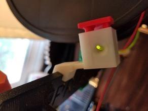 on printer filament snipper (prusa mk3)