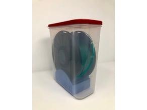 Filament Roller with Desiccant Holder