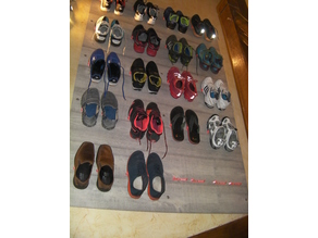 The Wall Of Shoes - Shoes Organizer