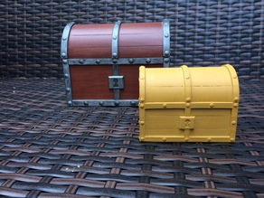 Treasure chest - Ocarina of time inspired