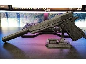 Silencer for Colt 1911 prop