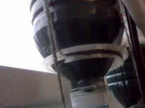 Bottle Hammock for Window Farms