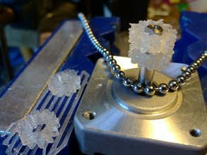 Spiky gear for 3.3 or 3.5mm ball chain