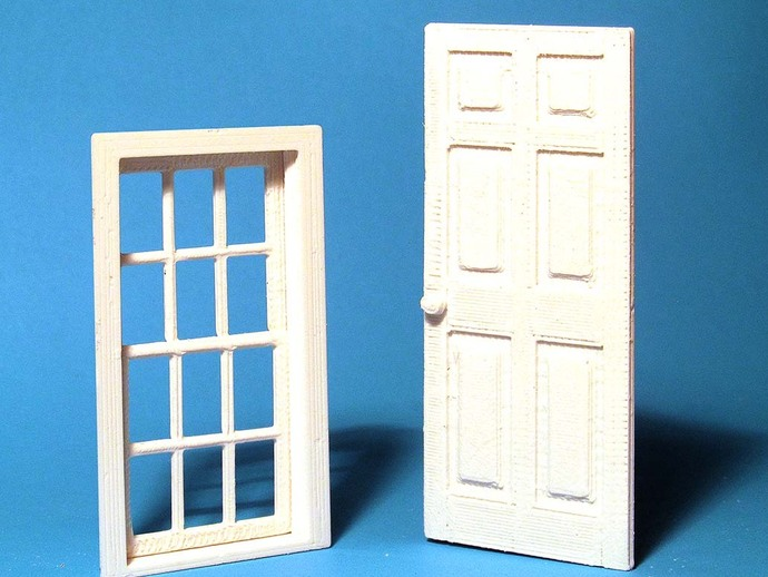 & Window and Door in 1:24 scale by HPaul - Thingiverse pezcame.com