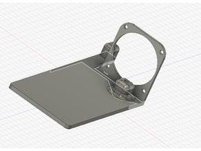 CR-10S Pro : fixation ventilateur carte mère + regulateur