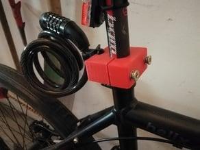 Fahrradschloss-Halterung / bicycle lock mount