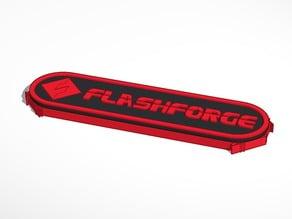 Flashforge Creator Pro side plugs in dual colors