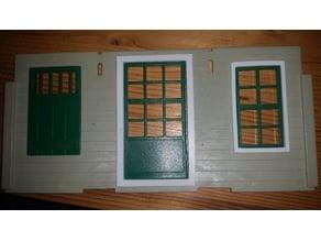 Playmobil 1976 Western building (3422, 3423, 3424 etc.) window frame