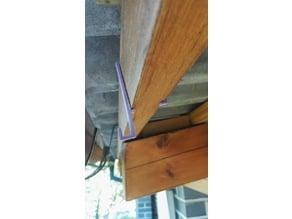 Wood Beam Hook (40x55mm)