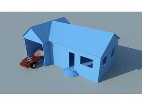 Simple 1:64 House