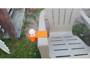 Cup Holder for Plastic Adirondack Chairs