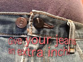 jeans button extension