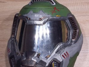 DOOM Armor Praetor Suit Helmet