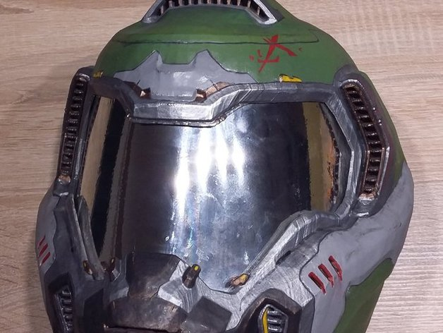 Doom Armor Praetor Suit Helmet By Kit Raevson Thingiverse