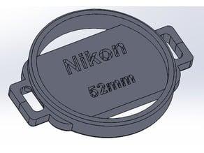 52mm Lens Cap Holder w/ Closed Ends