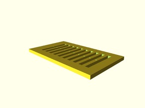 Parametric Loom Heddle