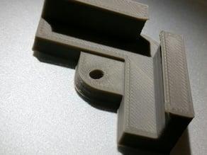 Wanhao D6 3mm glass Holder