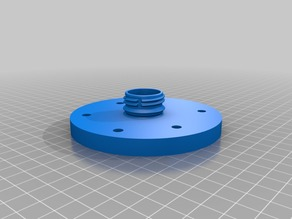 Cyclone Zyklon with flange for bucket