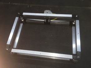 K40 Laser Motorized Z and Profile Rotary