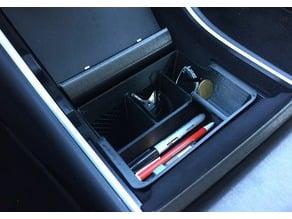 Tesla Model 3 deep/tall center tray