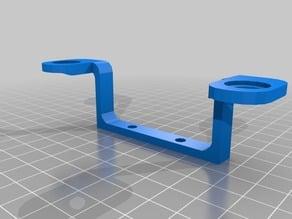 Front DJI Inspire gimball support braket