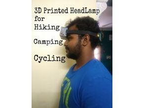 3D Printed HeadLamp (Long Lasting)