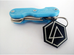 Linkin Park Keychain (dual color compatible)